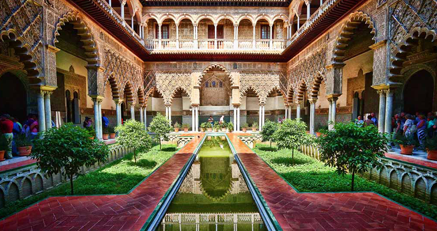 Visit to the Alcazar