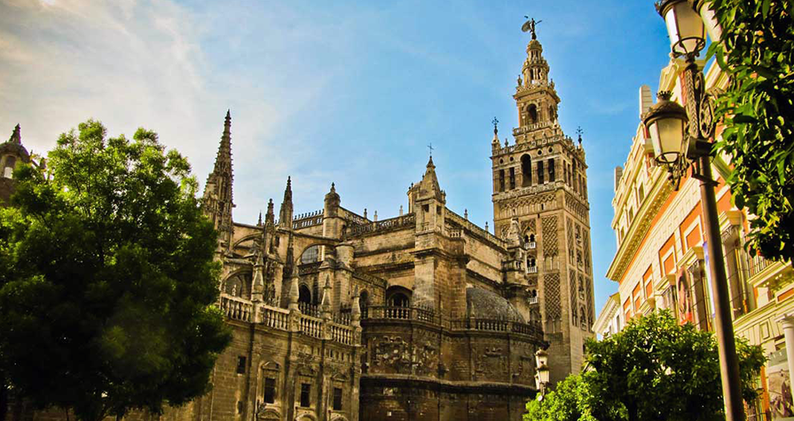 Entry to the Cathedral & Giralda